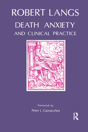 Death Anxiety and Clinical Practice book cover
