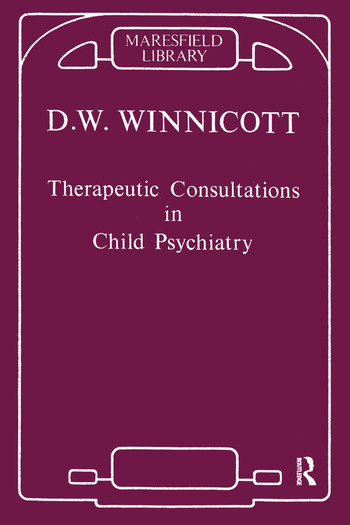 Therapeutic Consultations in Child Psychiatry book cover