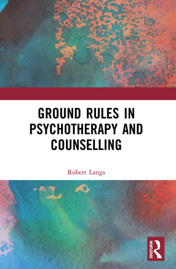 Ground Rules in Psychotherapy and Counselling book cover