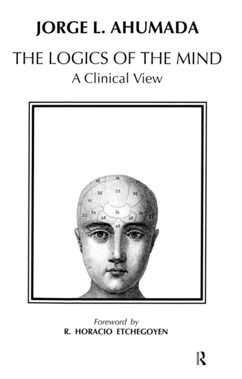 Logics of the Mind A Clinical View book cover