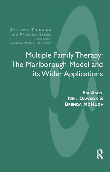 Multiple Family Therapy The Marlborough Model and Its Wider Applications book cover