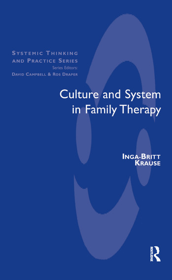 Culture and System in Family Therapy book cover