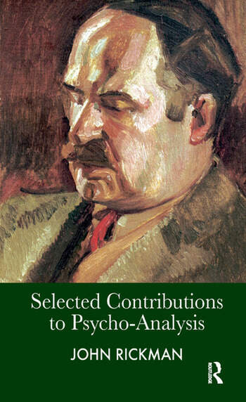 Selected Contributions to Psycho-Analysis book cover