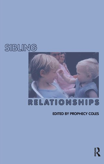 Sibling Relationships book cover