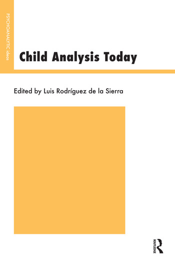 Child Analysis Today book cover