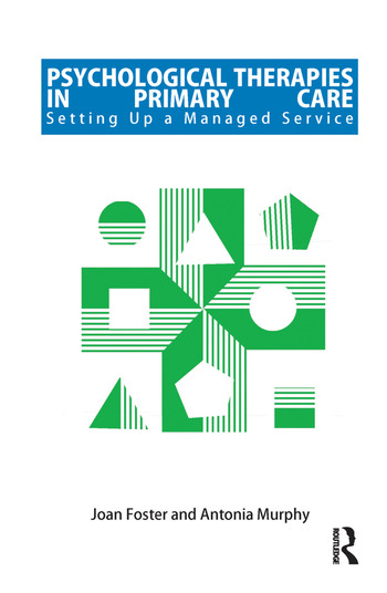 Psychological Therapies in Primary Care Setting up a Managed Service book cover