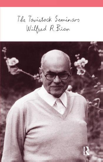 The Tavistock Seminars book cover