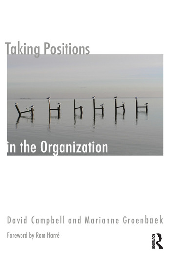 Taking Positions in the Organization book cover