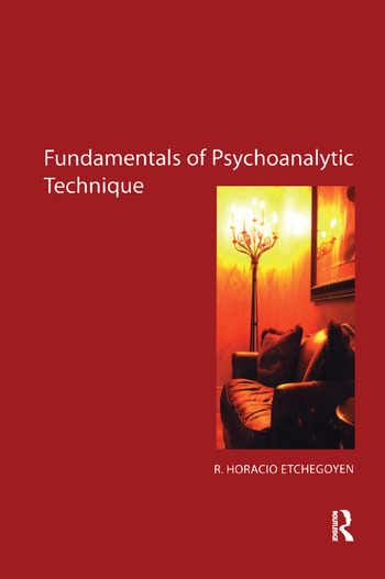 The Fundamentals of Psychoanalytic Technique book cover