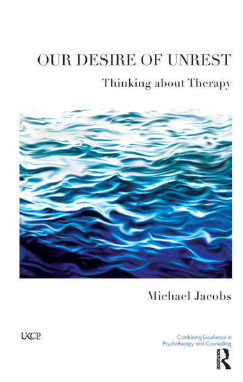 Our Desire of Unrest Thinking About Therapy book cover