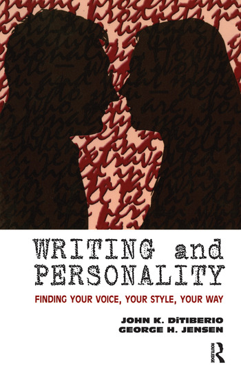 Writing and Personality Finding Your Voice, Your Style, Your Way book cover