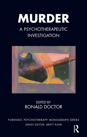Murder A Psychotherapeutic Investigation book cover