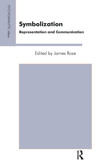 Symbolization Representation and Communication book cover