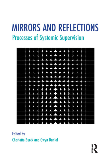 Mirrors and Reflections Processes of Systemic Supervision book cover