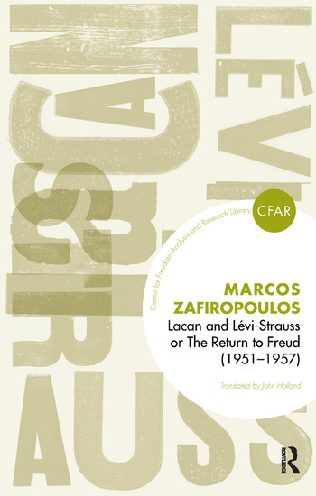Lacan and Levi-Strauss or The Return to Freud (1951-1957) book cover