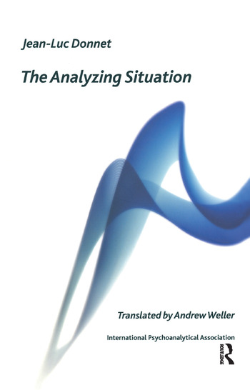 The Analyzing Situation book cover