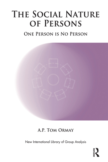 The Social Nature of Persons One Person is No Person book cover
