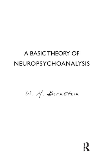 A Basic Theory of Neuropsychoanalysis book cover