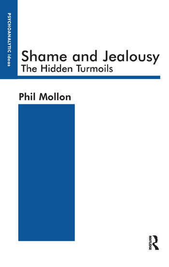 Shame and Jealousy The Hidden Turmoils book cover