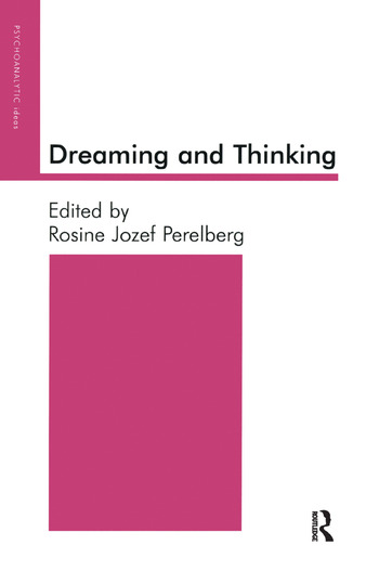 Dreaming and Thinking book cover