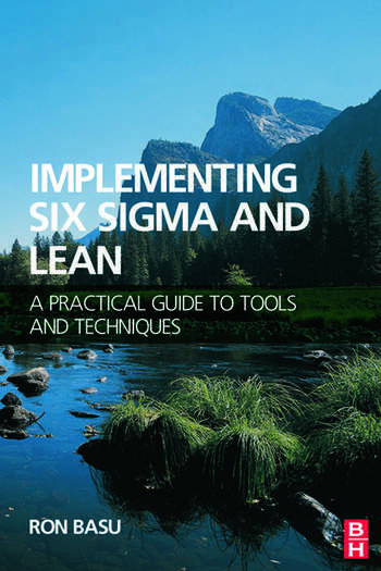 Implementing Six Sigma and Lean book cover