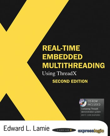 Real-Time Embedded Multithreading Using ThreadX book cover