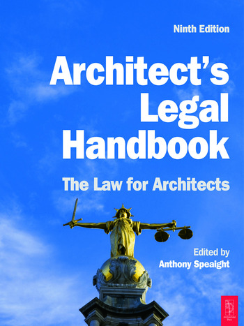 Architect's Legal Handbook book cover