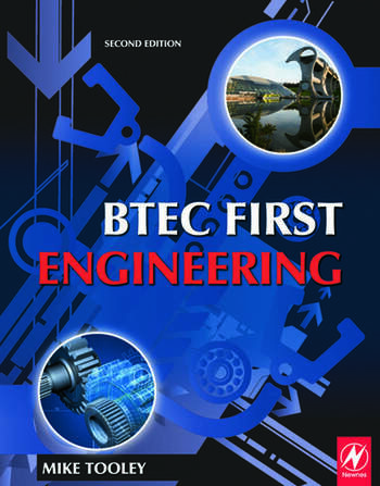 BTEC First Engineering book cover