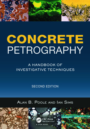 Concrete Petrography A Handbook of Investigative Techniques, Second Edition book cover