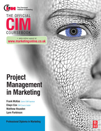 CIM Coursebook: Project Management in Marketing book cover