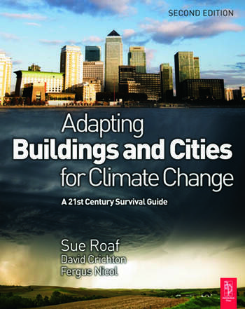 Adapting Buildings and Cities for Climate Change book cover