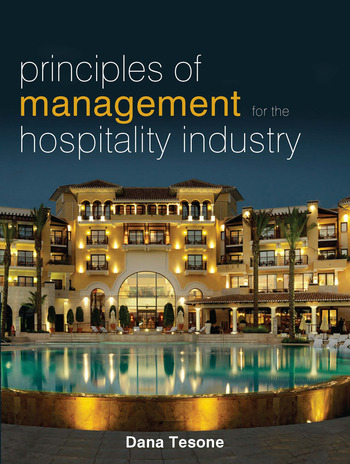 Principles of Management for the Hospitality Industry book cover