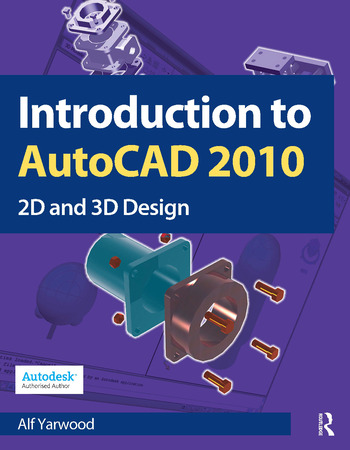 Introduction to AutoCAD 2010 book cover