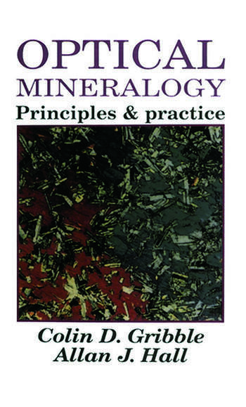 Optical Mineralogy Principles And Practice book cover