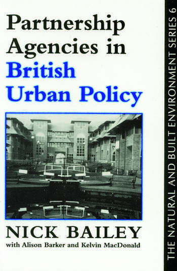 Partnership Agencies In British Urban Policy book cover