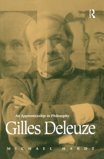 Gilles Deleuze An Apprenticeship In Philosophy book cover