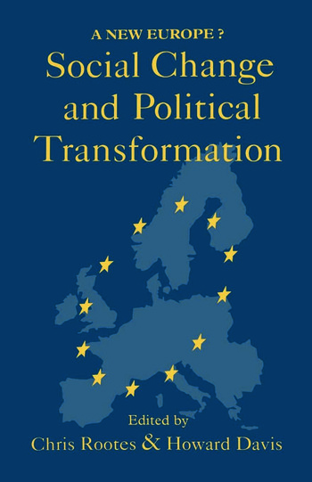 Social Change And Political Transformation A New Europe? book cover