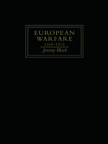 European Warfare, 1660-1815 book cover