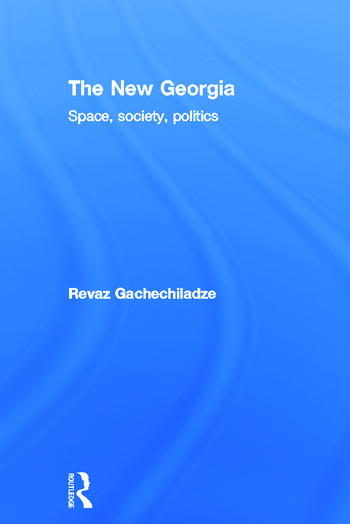 The New Georgia Space, Society, Politics book cover
