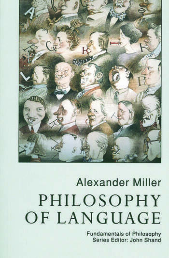 Philosophy Of Language book cover