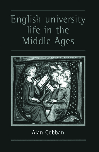 English University Life In The Middle Ages book cover