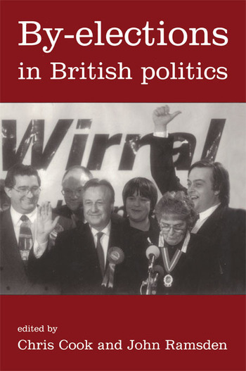 By-Elections In British Politics book cover