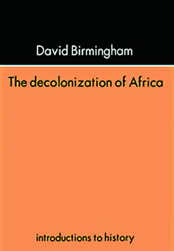 The Decolonization Of Africa book cover
