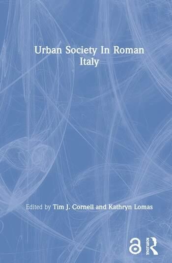 Urban Society In Roman Italy book cover