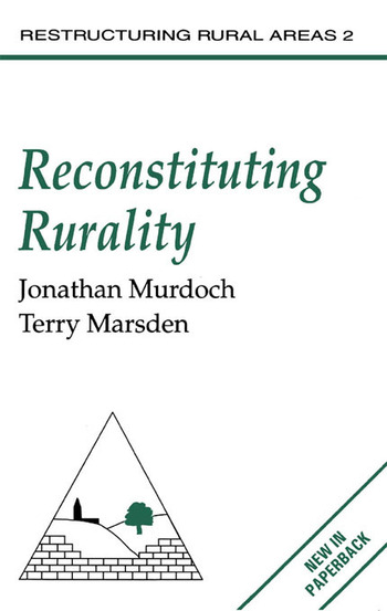 Reconstituting Rurality book cover
