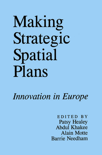 Making Strategic Spatial Plans book cover