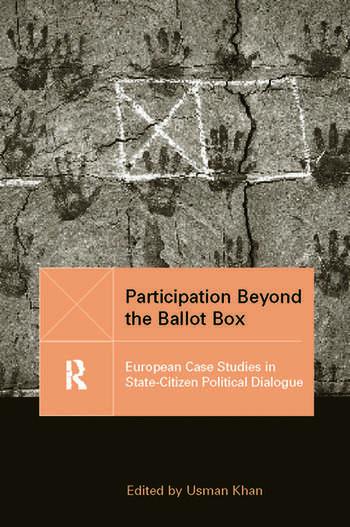 Participation Beyond the Ballot Box European Case Studies in State-Citizen Political Dialogue book cover