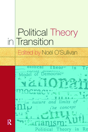 Political Theory In Transition book cover