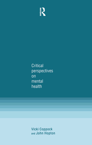 Critical Perspectives on Mental Health book cover