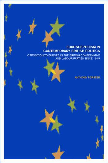 Euroscepticism In Contemporary book cover